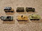 Playart Die Cast Saladin MKII Kraftwagen Personel Carrier M8 Amphibian Kubelwage
