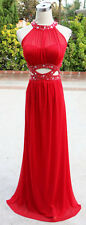NWT MORGAN & CO $180 Red Evening Formal Prom Gown 13