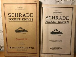 Schrade Pocket Knives A.G. Russell Knife Collectors Club Rare Book 1973