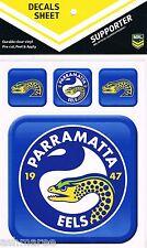 NRL Parramatta Eels Outdoor UV App Icon Car Tattoo Sticker Sheet Decal iTag