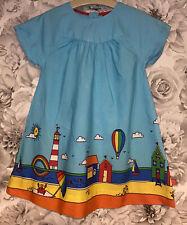 Girls Age 2-3 Years - Little Bird Summer Dress - Beach Themed