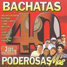Various Artists-40 Bachatas Poderosas Mas CD NEW