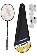BROWNING PLASMA NANO 75 Carbonio Badminton Racchetta + 6 Carlton NAVETTE RRP £ 300