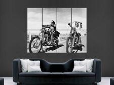 Easy rider giant poster print art chopper moto vélo moto chopper