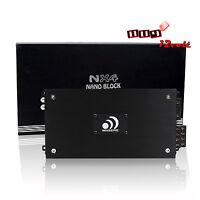 Massive NX4 1600W Max Nano Block Series 4-Channel Amplifier