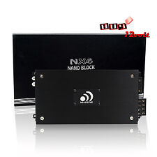 Massive NX4 1600W Max Nano Block Series 4-Channel Amplifier
