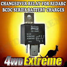 BRITAX MINI RELAY RC-1260R 12Volt 60/80A CHANGEOVER TO SUIT REDARC BCDC SOLAR