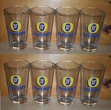 FOSTERS LAGER 8 PUB BAR BEER PINT GLASSES FOSTER'S NEW