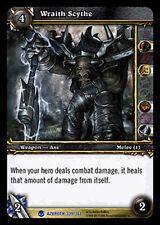 WOW WARCRAFT TCG ARCHIVES : WRAITH SCYTHE FOIL X 4