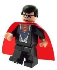 Custom Designed Minifigure Clark Kent Super man Flesh Printed On LEGO Parts