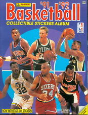 1991-92 Panini Basketball Yearbook Sticker Album - Larry Bird/Charles Barkley