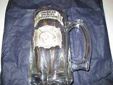 BEER MUG BY AMERICAN WILDLIFE COLLECTION WITH BASS FISH SYMBOL