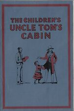 1937 book - The Children's Uncle Tom's Cabin illustrated by Honor C Appleton