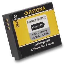 AKKU für Panasonic Lumix DMC-FT5 DMC-TZ58 DMC-TZ71 DMC-ZS30 DMW-BCM13 Battery