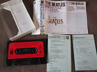 THE BEATLES 20 Greatest Hits JAPAN CASSETTE w/PS ZR28-1042 US Flag #42 Free S&H