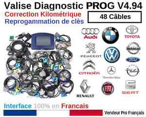 DIGIPROG 3 V4.94 - CORRECTION DU KILOMETRAGE PROGRAMMATION ECU