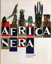 Africa nera. 64 tavole a colori 144 disegni 4 carte.