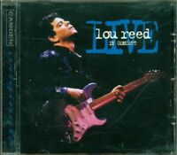 Lou Reed / Velvet Underground - Live In Concert Cd Eccellente