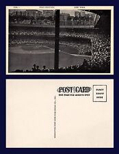 US NEW YORK CITY POLO GROUNDS FROM LEFT FIELD MANHATTAN POST CARD CO CIRCA 1938