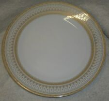 VINTAGE ROYAL SCOTLAND GILDED PLATE WITH GOLD EDGING SET LOT OF 4