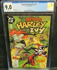 Batman: Harley & Ivy #2 (2004) Bruce Timm Cover CGC 9.0 White Pages CW893