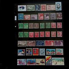 AUSTRALIA  (8)  Early to Modern – Used  Commemorative Stamps Collection  F061
