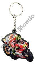 MotoGP #46 Valentino Rossi Ducati Corse Key Ring Fob car bike house gift