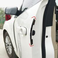 4Pc Black Car Door Edge Scratch Anti-collision Protector Guard Strip Accessories