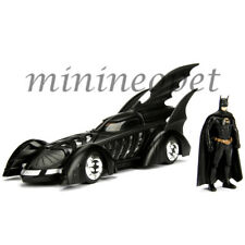JADA 98036 BATMAN FOREVER 1995 BATMOBILE 1/24 DIECAST with BATMAN FIGURE