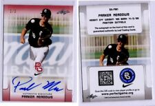 2017 Leaf Perfect Game AUTO Parker Meadows Real #1/1 Detroit Tigers 2nd rd pick