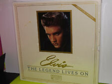 "Elvis Presley:12""LP The Legend Lives On Collector's Edition SEALED bonus photo"