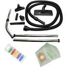 Numatic Henry Hetty Hoover 2.5 Mtr Hose Brushes Rods Tool Kit + 10 Bags + Fresh