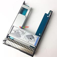 "HP G8/G9 2.5"" SSD TO 3.5"" SATA Converter Hard Drive Tray Caddy 651314-001+9W9C4"