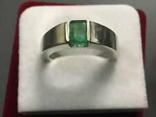 Natural mens Emerald Ring panjsher Emerald ring Real emerald Panna stone ring