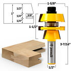 Shaker Stacked Rail and Stile Router Bit - 1/2' Shank - Yonico 12124
