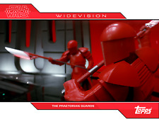 Topps Star Wars Card Trader Last Jedi WIDEVISION Praetorian Guards RED ERRORCARD