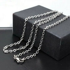 "20"" Women's Men's Stainless Steel Silver Link Chain Necklace Fashion Necklace"