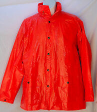 Duck Bay Orange Hunting Sail Water Ocean Summer Rain Coat Jacket XL Extra Large