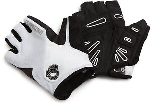 NEW! Pearl Izumi Select Gel Cycling Gloves 14141103 Color White Size Small