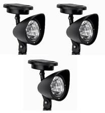 3x Solar-LED-Wegespot   Solarlampe   Gartenbeleuchtung   Solarleuchte Spot-Light