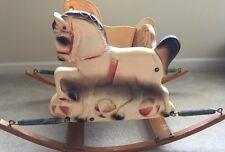 Vtg Mid Century 60's Delphos Bending Co. Spring Toy Children's Horse Rocker