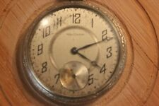 "Waltham Vintage Pocket Watch  --1 7/8"" Face -- Weighs 2.9 oz -- Does not run"