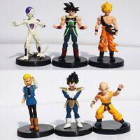 6pcs/lot Dragon Ball Z Figures Dragonball Son Goku