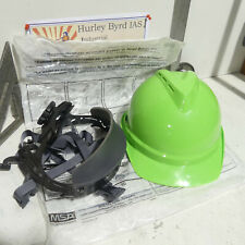 Msa V Gard 500 Vented Hard Hat With 6 Point Ratchet Suspension Made In The Usa