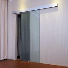 Homcom Puerda corredera cristal puerta corrediza deslizante sin obra 205x77.5cm