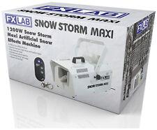FX LAB SNOW STORM MAXI 1200 WATT SNOW MACHINE *BNIB* - MAKE CHRISTMAS SPECIAL!!!