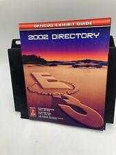 Prima  E3 2002 Directory Official Exhibit guide Rare HTF