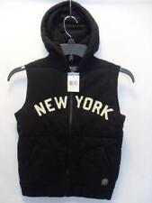 New Youth Polo Ralph Lauren Hooded Vest - Color: Black - Size: 6 - NWOT