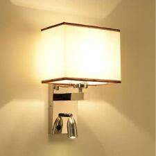 NOUVEAU métal LED lumineuse chambre salon chevet mur bougeoir lampe de nuit HC