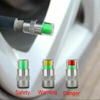 Reifenwächter Druckwächter Ventilkappen Druckanzeige Alarm B1X6 Anzeige Sen P9O2